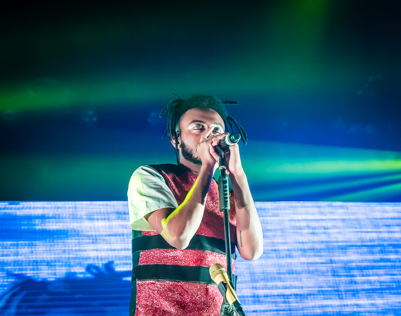 Aminé, Roseland Theater, photo by Miguel Padilla