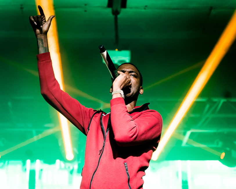 Young Dolph, Hawthorne Theatre, photo by Miguel Padilla