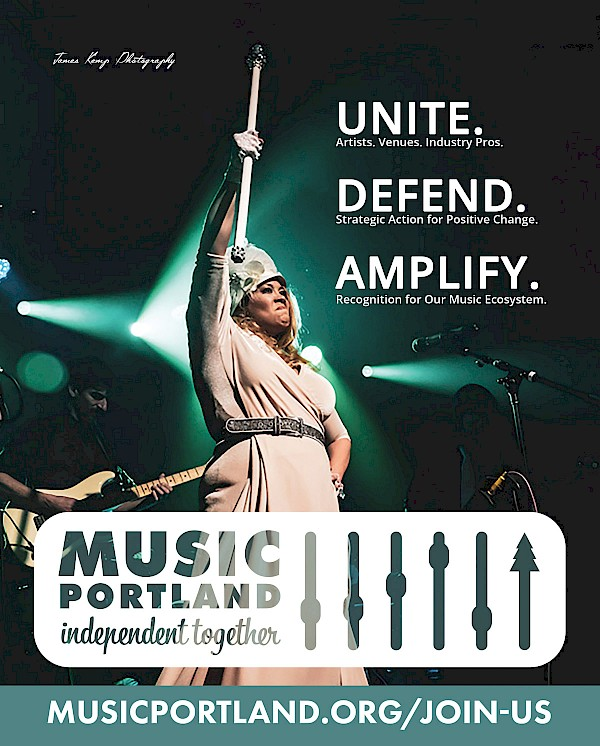 CLICK HERE to raise your hand and be counted as a member of MusicPortland!