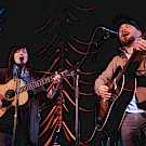 Pretty Gritty, Mission Theater, Portland's Folk Festival, photo by Joe Bitters