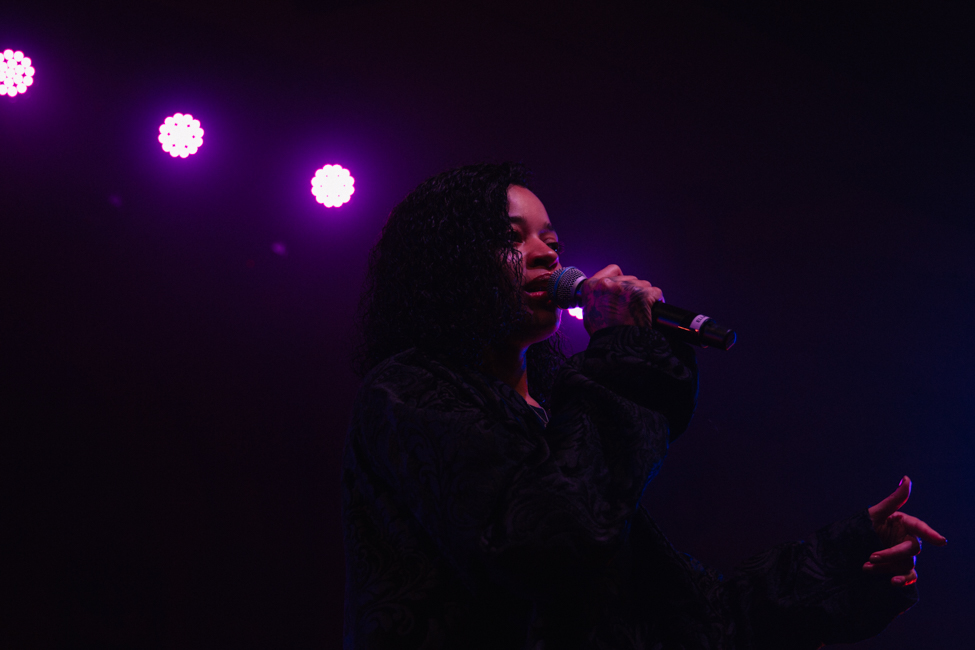 Ella Mai, Crystal Ballroom, photo by Brandon Sean