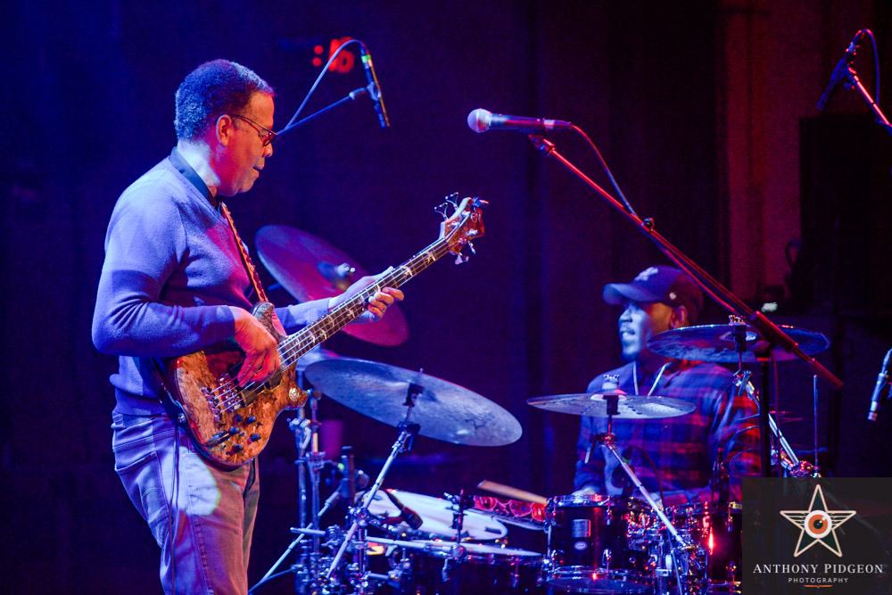 Stanley Clarke, Revolution Hall, PDX Jazz Festival, photo by Anthony Pidgeon