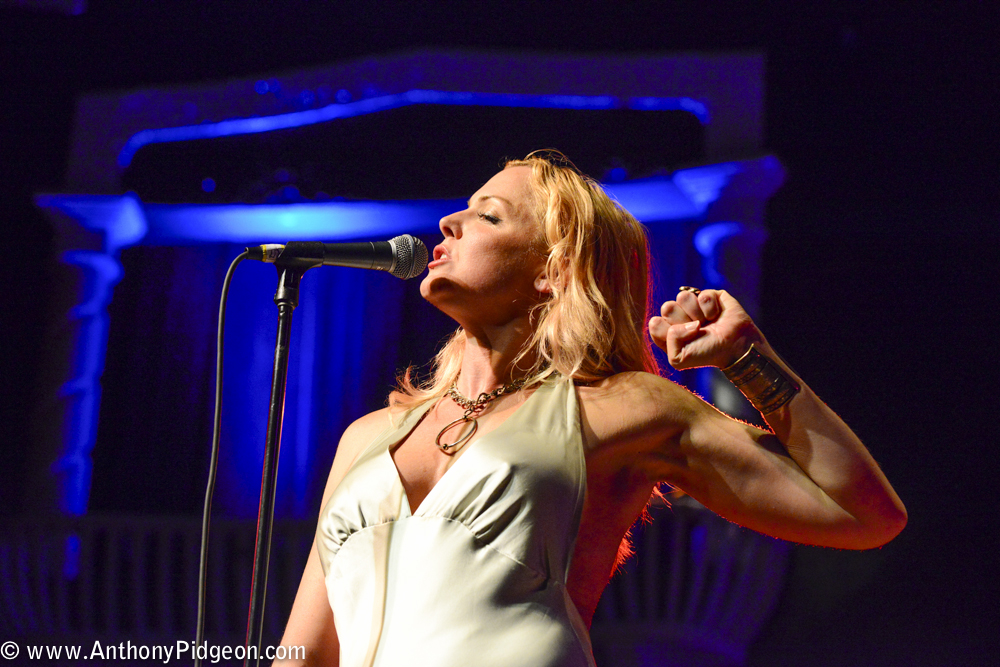 Storm Large, Alberta Rose Theatre, photo by Anthony Pidgeon