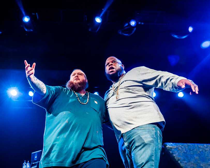 Action Bronson, Roseland Theater, photo by Miguel Padilla
