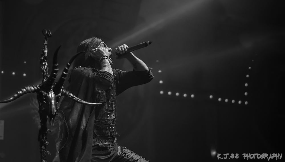 Cradle of Filth, Crystal Ballroom, photo by Kevin Pettigrew