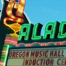 Oregon Music Hall of Fame, Aladdin Theater, photo by John Alcala
