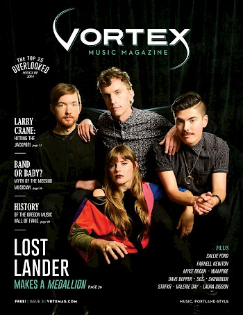 Vortex cover stars—click to read more stories from the issue