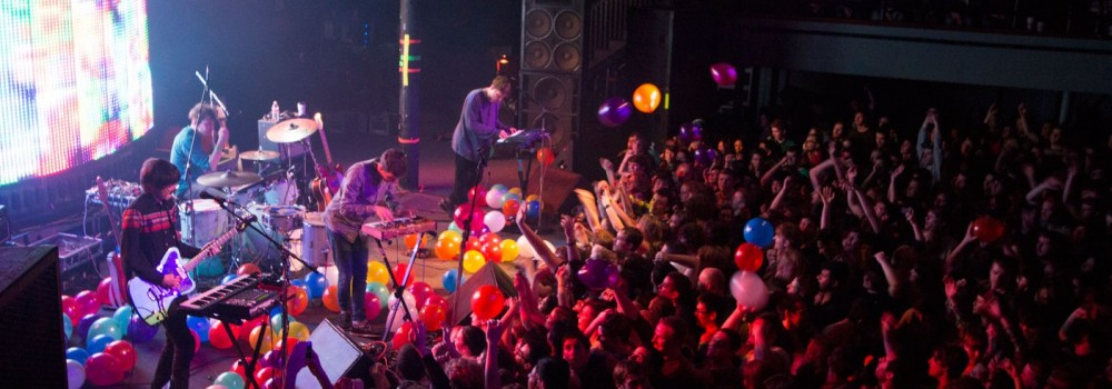 STRFKR, Roseland Theater, photo by Benjamin Wu