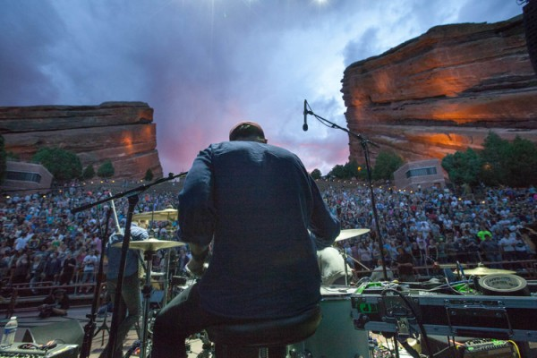 STRFKR at Red Rocks: Photo by Wes Eisenhauer
