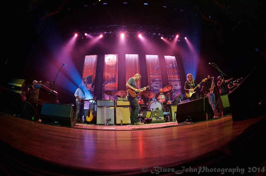 Tedeschi Trucks Band, Arlene Schnitzer Concert Hall, photo by John Alcala