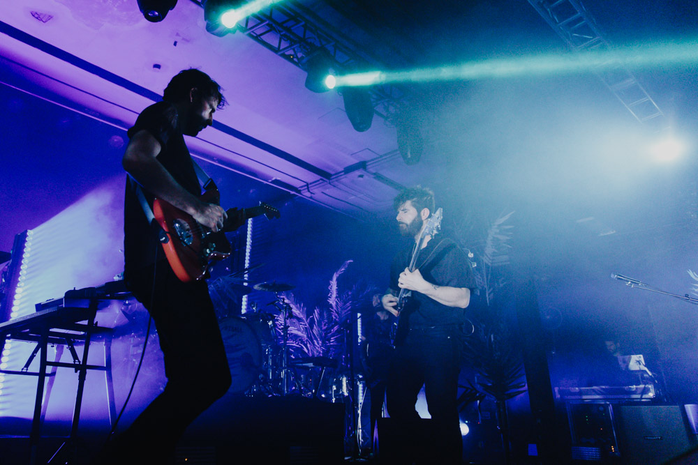 Foals, Roseland Theater, photo by Sydnie Kobza