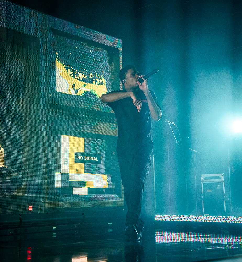 Vince Staples, Roseland Theater, photo by Henry Ward