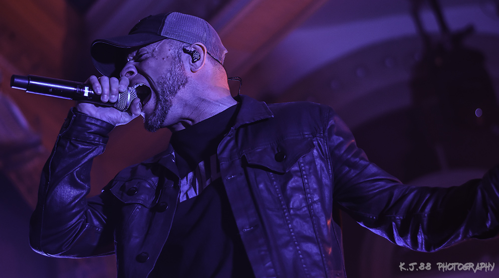 All That Remains, Crystal Ballroom, photo by Kevin Pettigrew