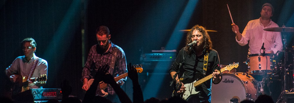 The War On Drugs, Crystal Ballroom, 94.7 FM, photo by Ronit Fahl