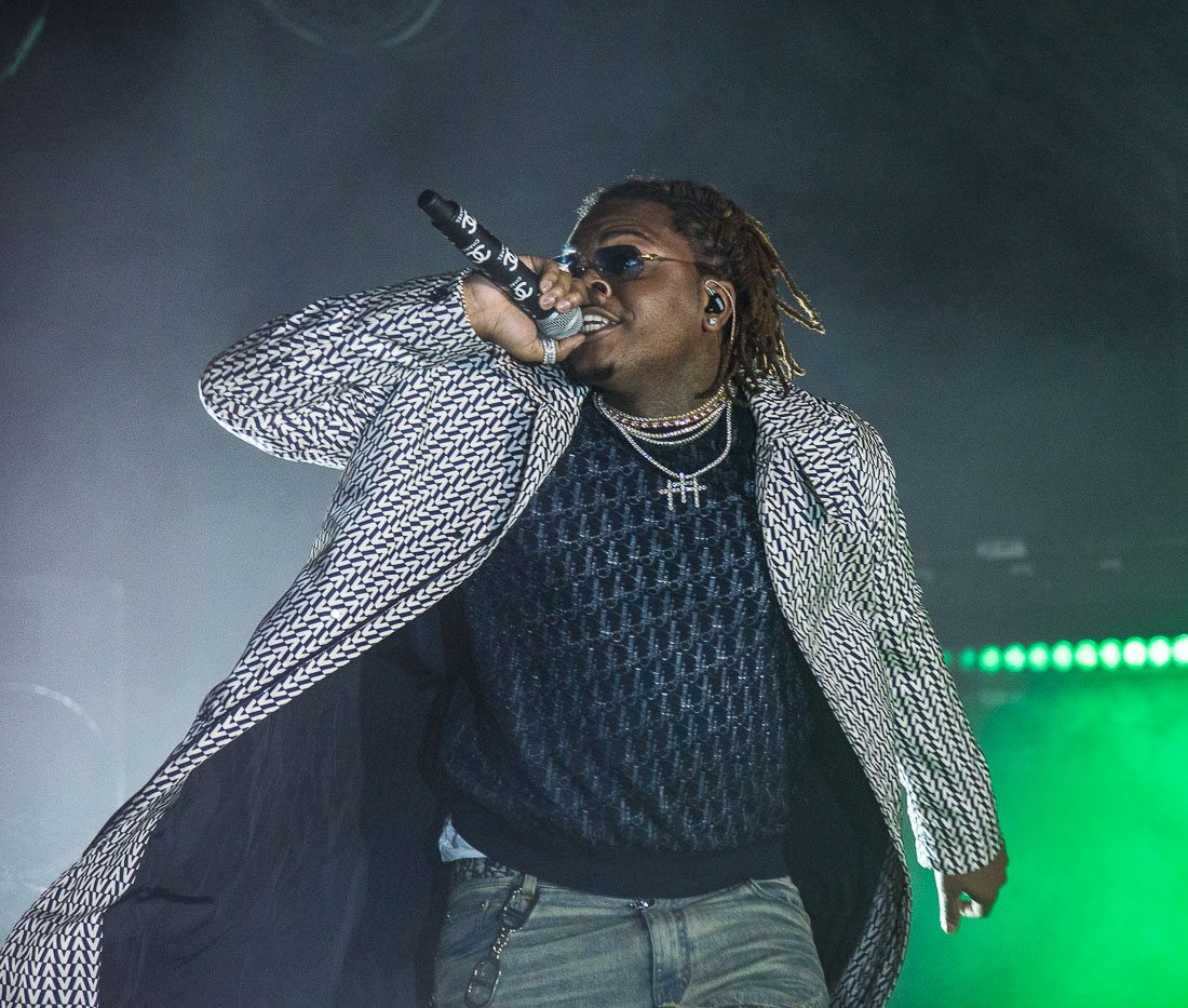 Gunna, Roseland Theater, photo by Henry Ward