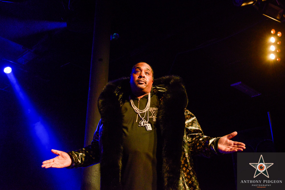 Rakim, Roseland Theater, Soul'd Out Music Festival, photo by Anthony Pidgeon