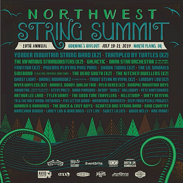 Wanna win a three-day fest pass (Friday through Sunday) to Northwest String Summit? Just fill out the form below and join the Vortex Access Party (if you're not already a member)!