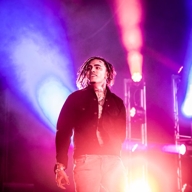 Lil Pump, WaMu Theater, photo by Sal Barragan