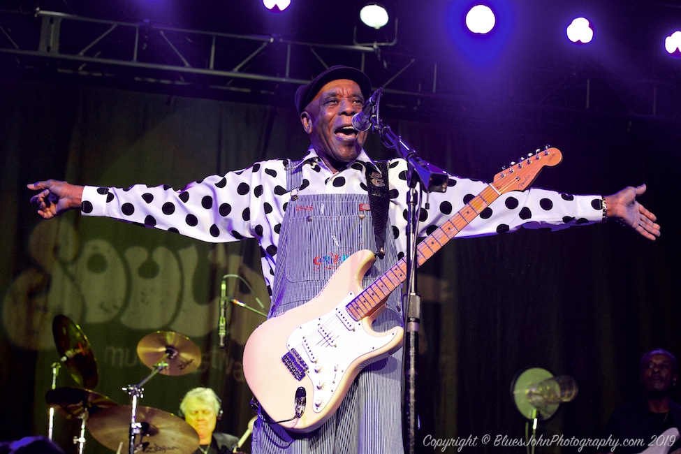 Buddy Guy, Roseland Theater, Soul'd Out Music Festival, photo by John Alcala