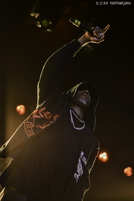DMX, Roseland Theater, photo by Kevin Pettigrew