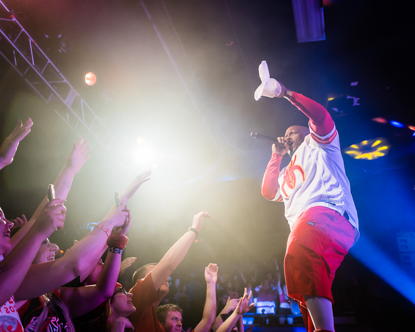 Photos of Tech N9ne, Ubi, Dax and ¡MAYDAY! at Roseland