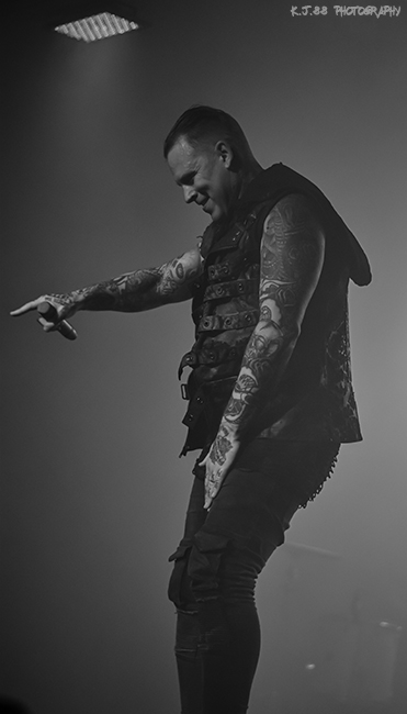 Combichrist, Hawthorne Theatre, photo by Kevin Pettigrew