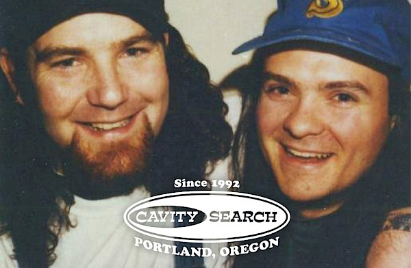 Cavity Search's Christopher Cooper and Denny Swofford: Photo by Craig Cook