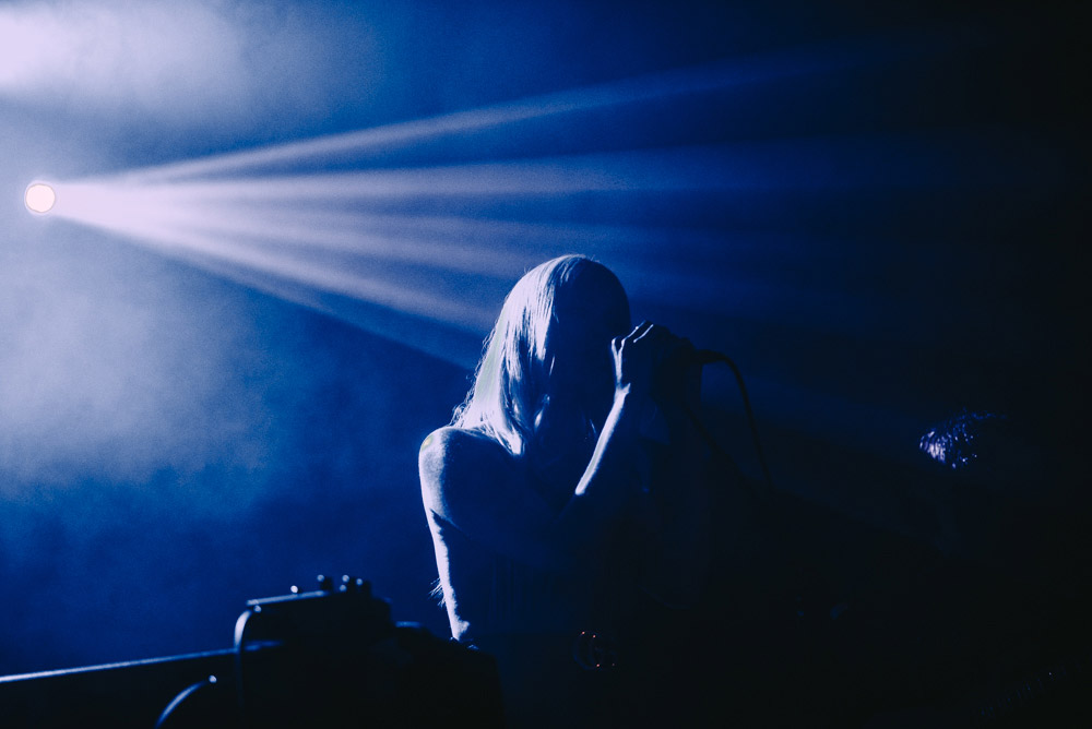 Chromatics, Wonder Ballroom, Italians Do It Better, photo by Ignacio Quintana