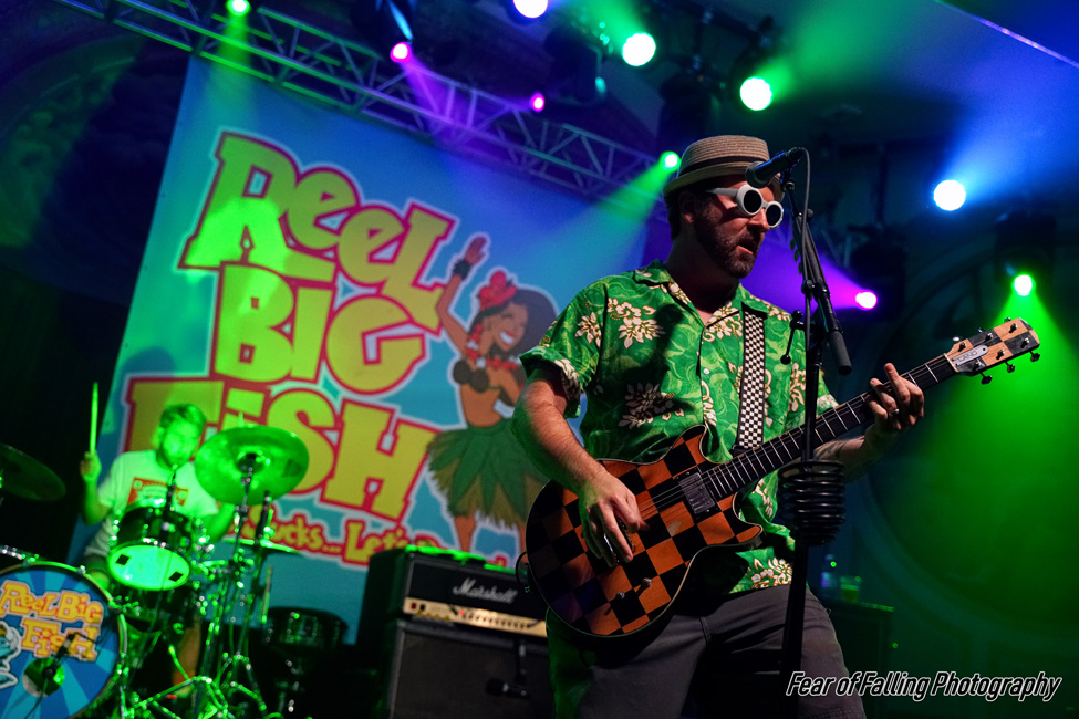 Reel Big Fish, Crystal Ballroom, photo by Joshua Hathaway