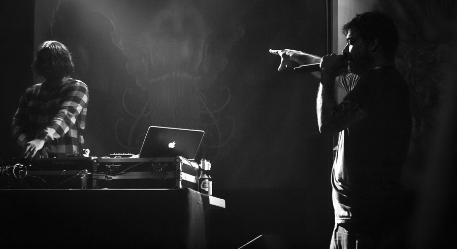 Aesop Rock, Hawthorne Theatre, Mike Thrasher Presents, photo by Christina Bay