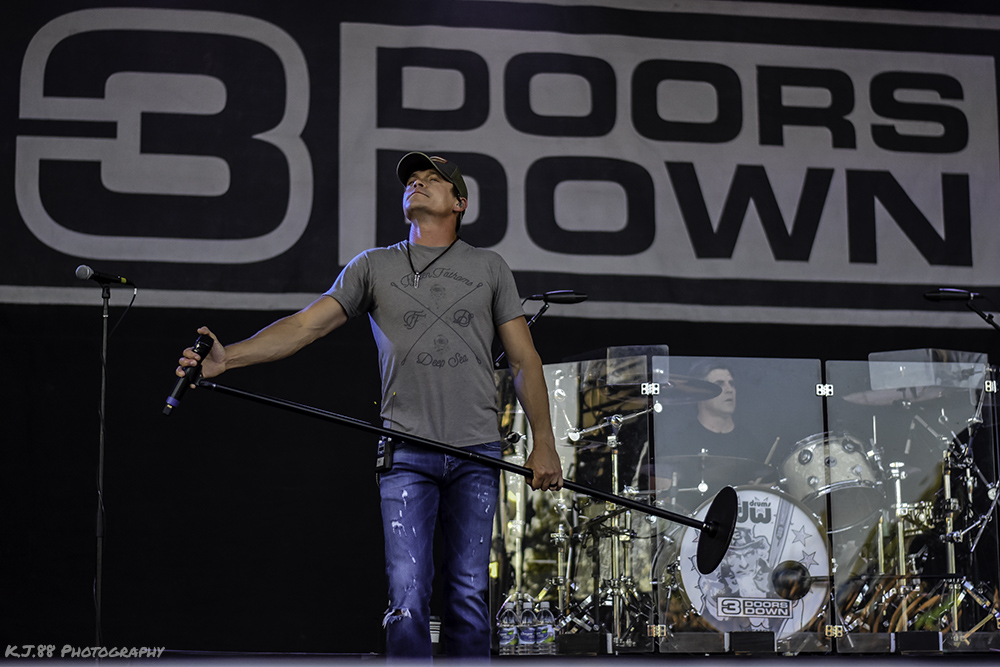 3 Doors Down, Oregon State Fair, photo by Kevin Pettigrew