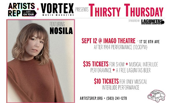 Don't miss Nosila telling the stories behind her songs at Musical Interlude on September 12!