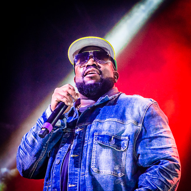 Big Boi, Roseland Theater, photo by Miguel Padilla