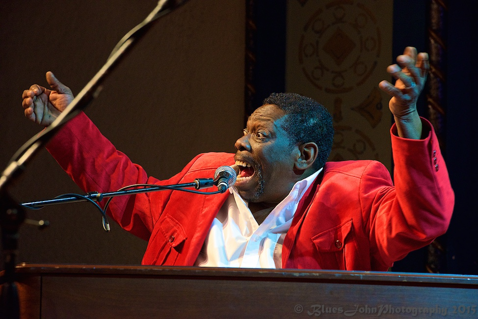 Lucky Peterson, Aladdin Theater, PDX Jazz Festival, PDX Jazz, photo by John Alcala