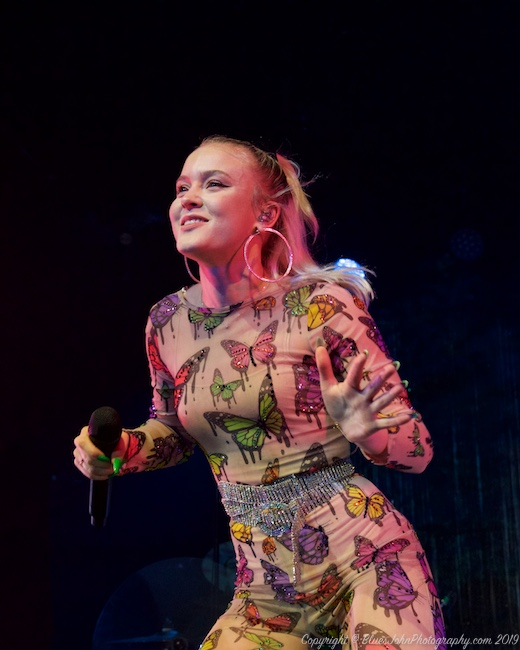 Zara Larsson, Wonder Ballroom, photo by John Alcala