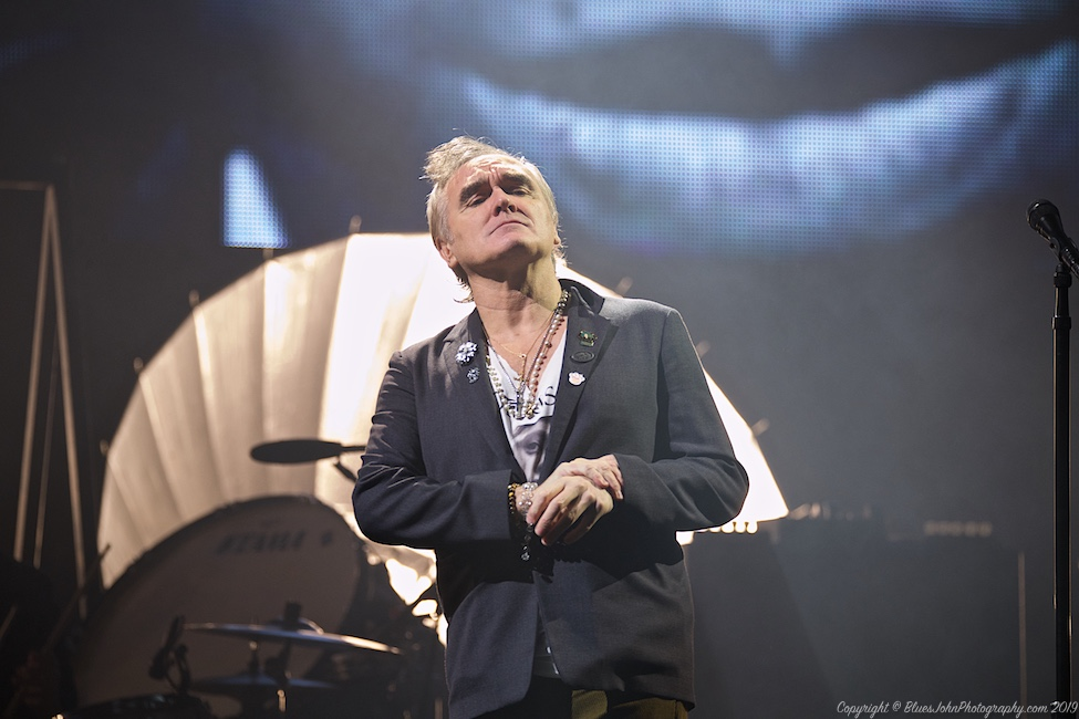 Morrissey, Moda Center, photo by John Alcala