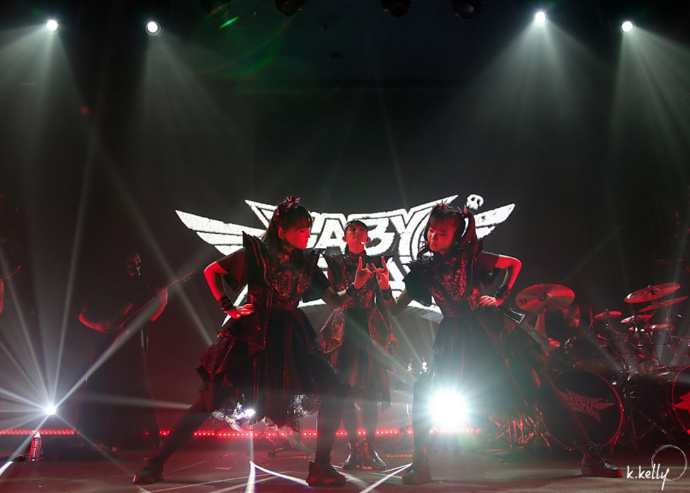 BabyMetal, Roseland Theater, photo by Katie Kelly