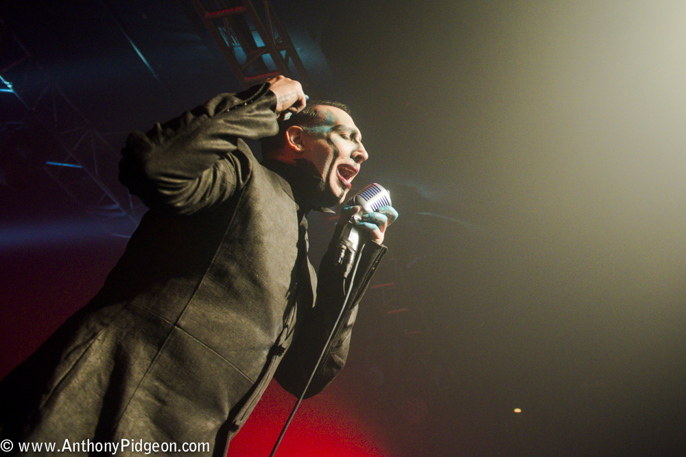Marilyn Manson, Roseland Theater, photo by Anthony Pidgeon