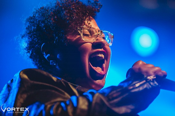Dirty Revival's Sarah Clarke at the Crystal Ballroom opening for George Clinton and Parliament Funkadelic on March 18, 2015—click to see a whole gallery of photos by Paul Garcia