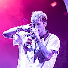 Machine Gun Kelly, WaMu Theater, photo by Sal Barragan