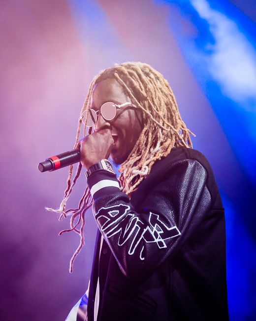 Young Thug, Moda Center, photo by Miguel Padilla