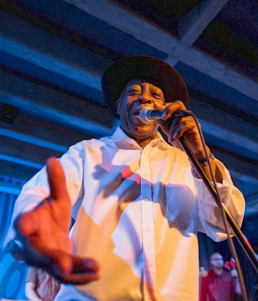 Ural Thomas at the Doug Fir—click to see more photos by Drew Bandy