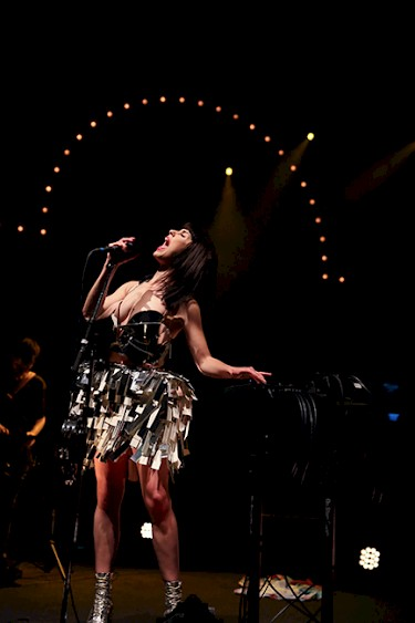Kimbra—click to see a whole gallery of photos by Sydnie Kobza