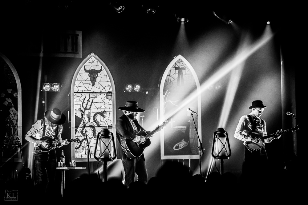 The Dead South, Roseland Theater, photo by Kris Luke