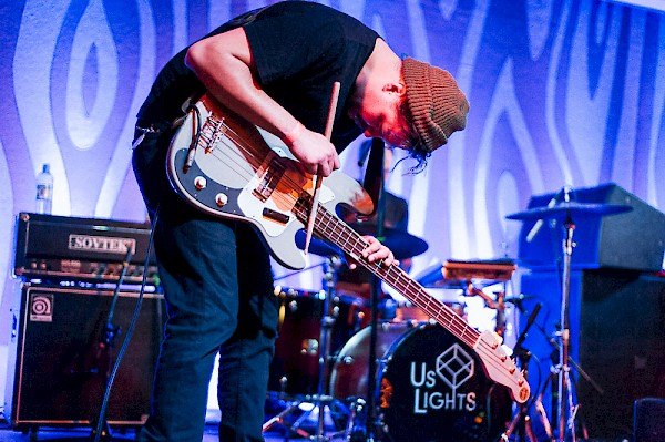 Us Lights at the Doug Fir Lounge on April 28, 2015—click to see a whole gallery of photos by Drew Bandy