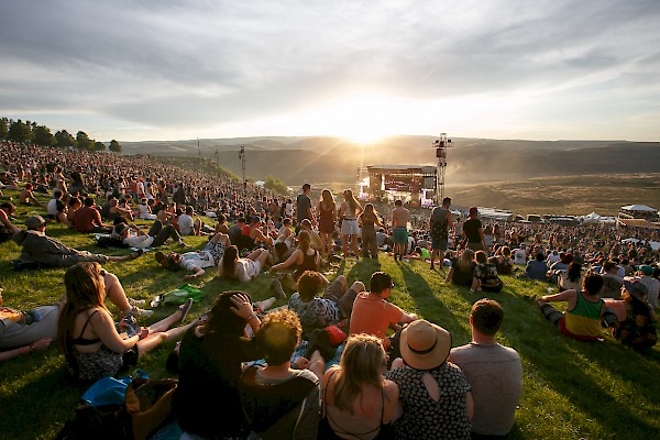 The Gorge Amphitheatre in Washington