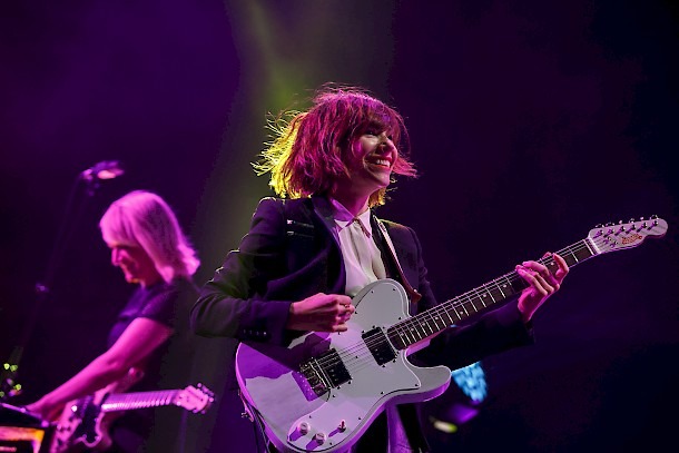 Carrie Brownstein of Sleater-Kinney