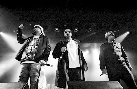 Bone Thugs-N-Harmony, Roseland Theater, photo by Sal Barragan