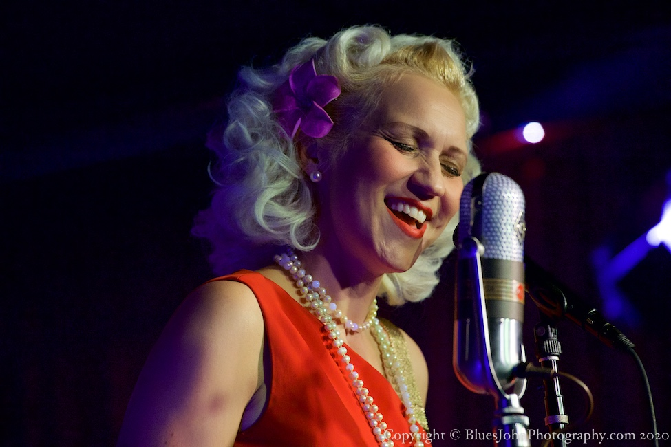 Gunhild Carling, Jack London Revue, PDX Jazz Festival, photo by John Alcala