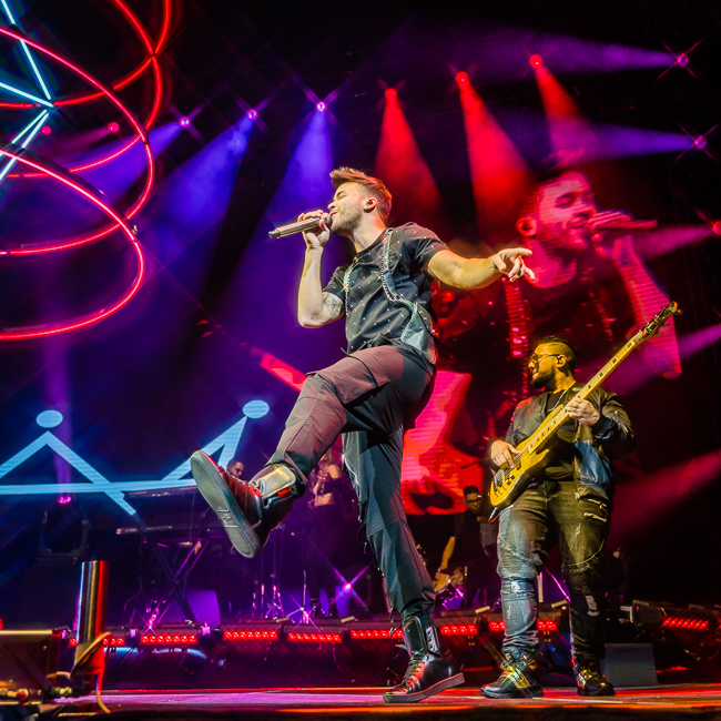 Prince Royce, Moda Center, photo by Miguel Padilla